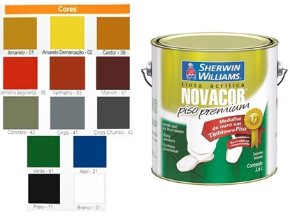 Imagem de TINTA PISO NOVACOR VERDE  3,6L SHERWIN WILLIAM